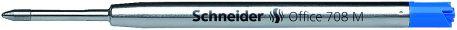 Стержень кульковий Schneider OFFICE 708 M, синій