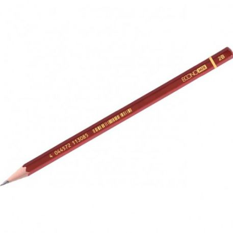Олівець чорнографітний Economix  2В