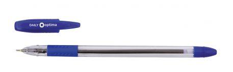 Ручка масляна 0,7мм Optima DAILY, синя