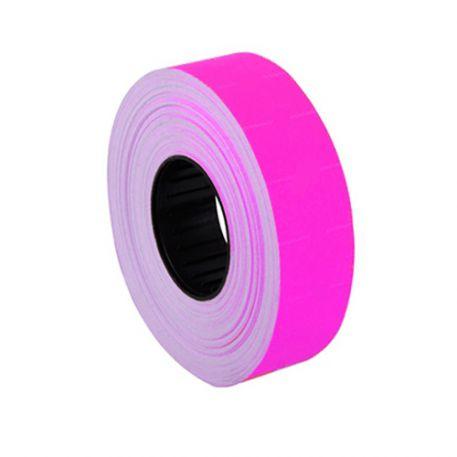 Етикетки-цінники Economix 16х23мм, рожеві