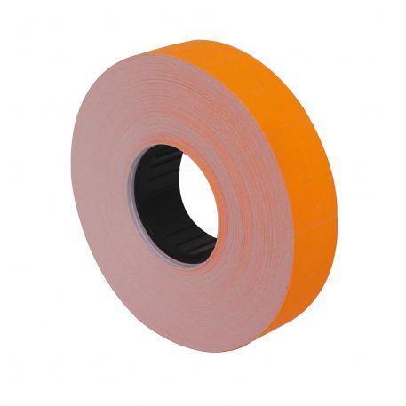 Етикетки-цінники Economix 16х23мм, помаранчеві