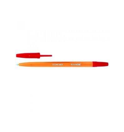 Ручка кулькова 0,5мм Economix Range, червона