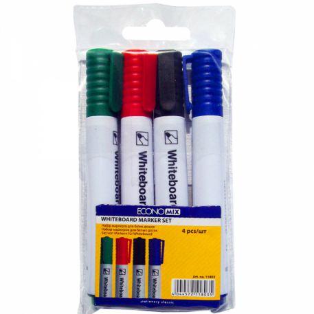 Набір маркерів для дошок Economix 11803, 4шт
