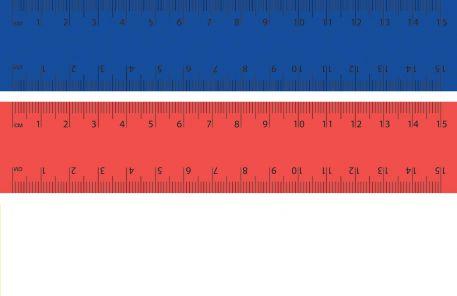 Лінійка 1 Вересня 15см, для лівші