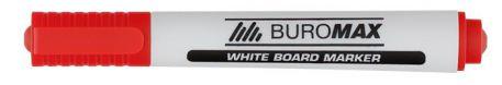 Маркер водний Buromax, 2-4мм, червоний