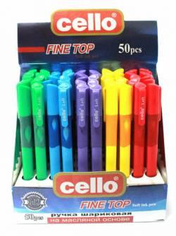 Ручка кулькова 0,5мм CELLO RIGHT, синя