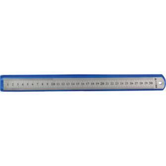 Лінійка Buromax 30см, металева