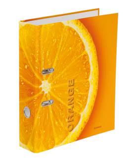 "Папка-реєстратор А4 Donau, 70мм, ""Orange"""