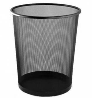 Корзина для сміття, металева, мала