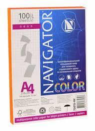 Бумага цветная Navigator 75г / м2 А4, 100л