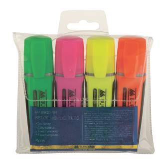 Набір маркерів Buromax , 2-4мм, 4 шт