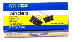 Біндер для паперів Economix 32мм