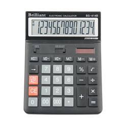 Калькулятор Brilliant BS-414, 14 разрядов