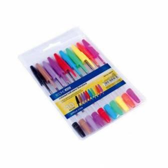 Набір кулькових ручок Economix, 10шт.