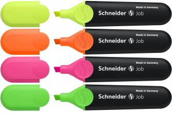 Маркер текстовый Schneider Job, 1-4,5мм