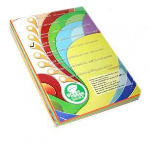 Бумага цветная Green Range Mix Neon 80 г / м2