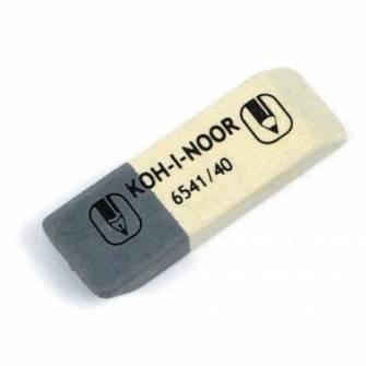 Гумка Koh-i-Noor 6541/40 біло-сіра