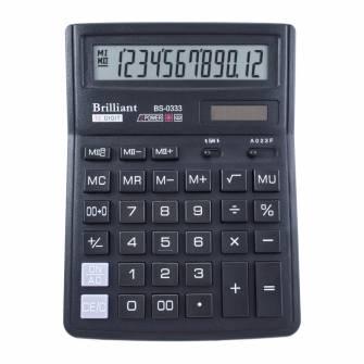 Калькулятор Brilliant BS-0333, 12 розрядів