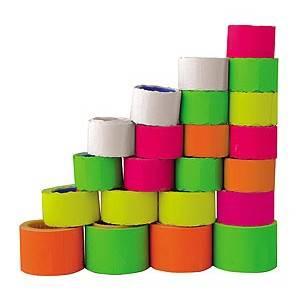 Етикетки-цінники Economix 30х20мм, асорті