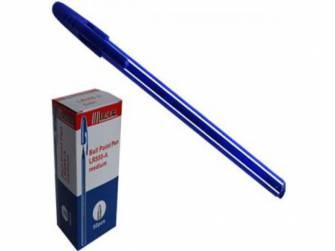 Ручка шариковая 0,7мм Leader LR-555, синяя