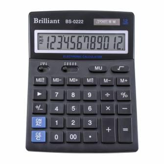 Калькулятор Brilliant BS-0222, 12 розрядів