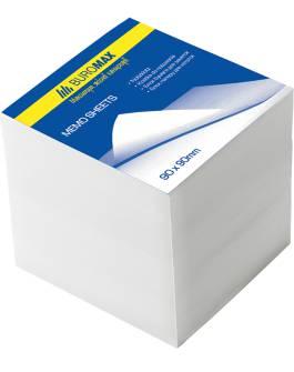 Блок бумаги для заметок Buromax, 1100арк., белый