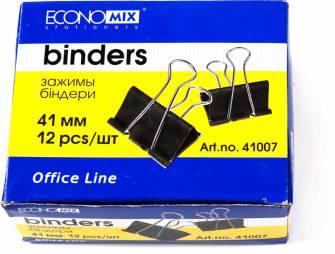 Біндер для паперів Economix 41мм