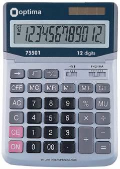 Калькулятор Optima 75501,12 розрядів