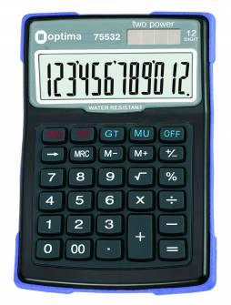 Калькулятор Optima 75532,12 розрядів, водонепроникний