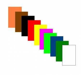 Папір кольоровий флуоресцентний А4 10 арк.