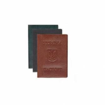 Обложка на паспорт, мягкая искусственная кожа