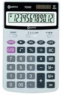 Калькулятор Optima 75502,12 розрядів