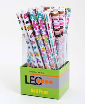 Ручка масляная Leo 0.7 мм, синяя