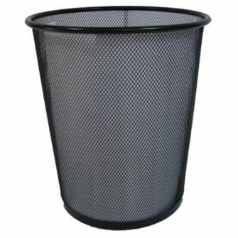 Корзина для мусора, металлическая, большая
