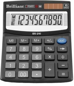 Калькулятор Brilliant BS-210, 10 розрядів