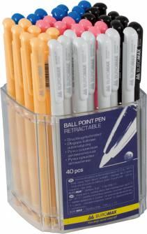 Ручка шариковая 0,7мм Buromax BM.8205, синяя