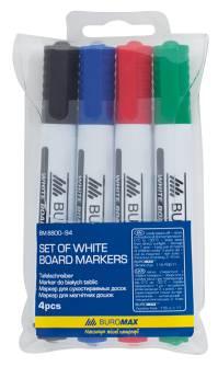 Набір маркерів для дошок Buromax BM.8800