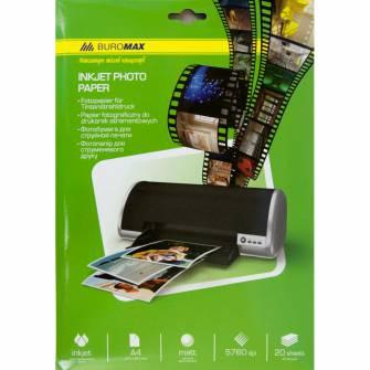 Фотопапір матовий 180г/м2 А4, 20 арк.