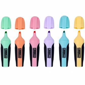 Набір маркерів Buromax ВМ.8905, 2-4мм, 6 шт