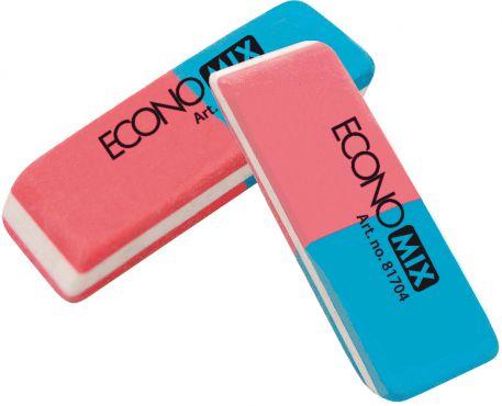 Гумка Economix 81704 червоно-синя