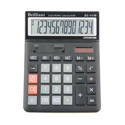 Калькулятор Brilliant BS-414, 14 розрядів