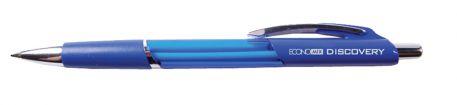 Ручка кулькова 0,5мм Economix DISCOVERY, синя