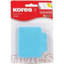 Блок паперу для нотаток з клейким шаром Kores, 50арк.