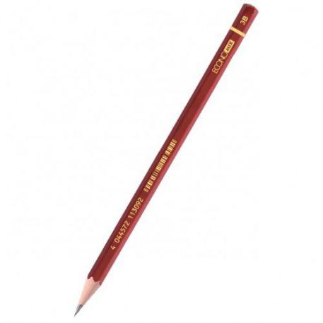 Олівець чорнографітний Economix  3В