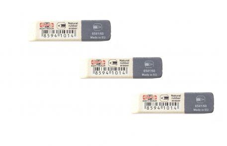 Гумка Koh-i-Noor 6541/60 біло-сіра