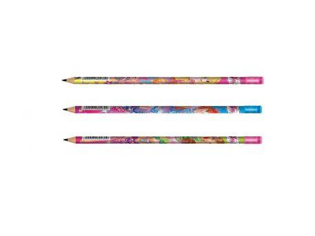 Олівець чорнографітний 1 Вересня WINX НВ