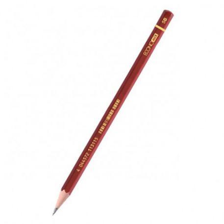 Олівець чорнографітний Economix  5В