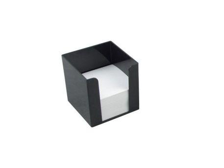 Бокс для паперу 90х90х90мм, чорний