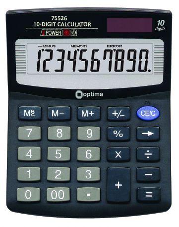 Калькулятор Optima 75526,10 розрядів