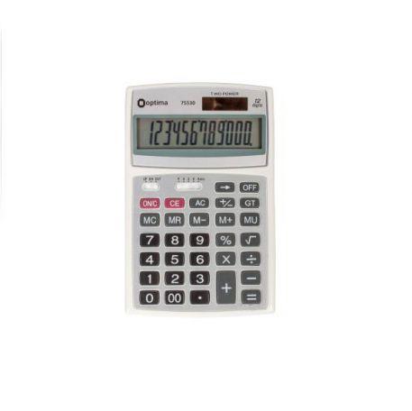 Калькулятор Optima 75530,12 розрядів